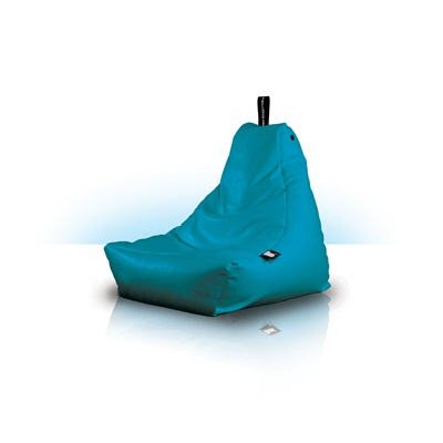 EXTREME LOUNGING MINI BEAN BAG in Aqua