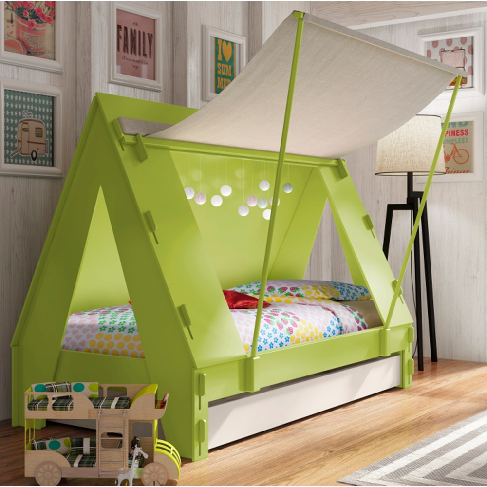Kids Tent Cabin Bed - Luxury Kids Beds | Cuckooland