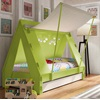 Luxury Kids Tent Bed in Green by Mathy By Bols