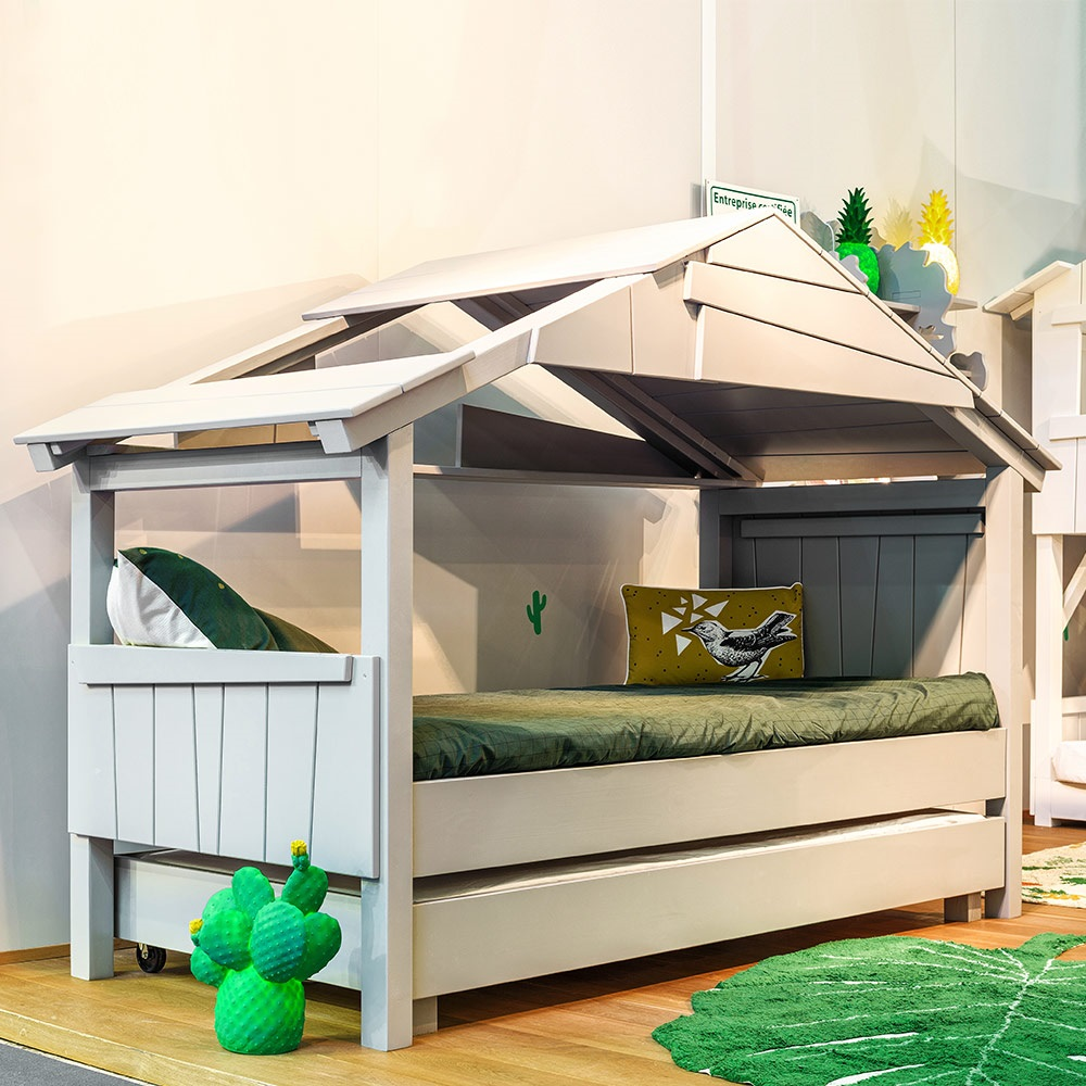 Mathy By Bols Star Treehouse Single Cabin Bed With
