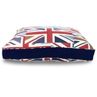 MATTRESS DOG BED in Union Jack by Hugo & Hennie  Medium