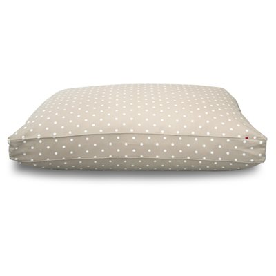 MATTRESS DOG BED in Taupe Dotty by Hugo & Hennie