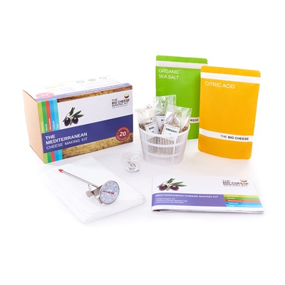 Mediterranean Big Cheese Making Kit