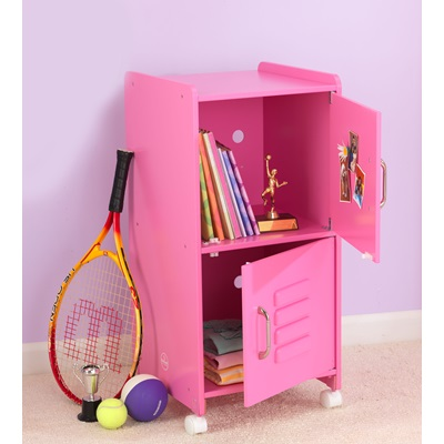 KIDS LOCKER CUPBOARD in Pink