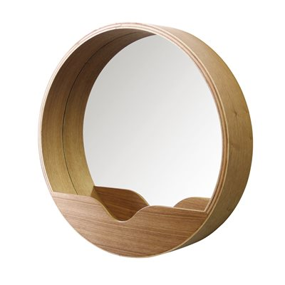 ZUIVER RETRO ROUND WALL MIRROR