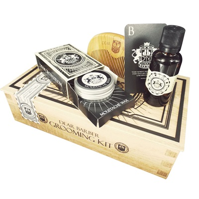 DEAR BARBER LUXURY MEN'S BEARD GROOMING Gift Set