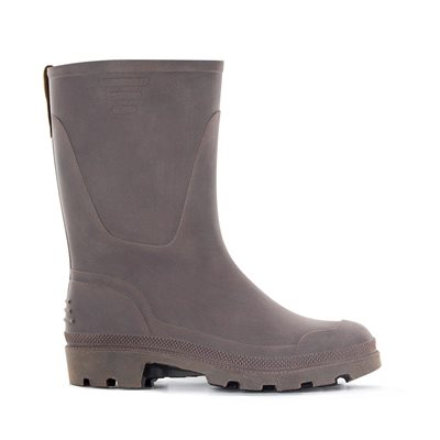 Men's Chester Waterproof  Wellies in Leather-look