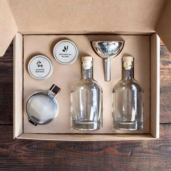 Mens Society Gin Gift Set