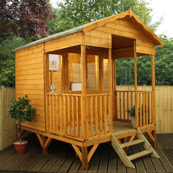 Beach Hut Garden Summer House by Mercia