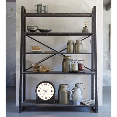 SPLURGE METAL SHELVING UNIT