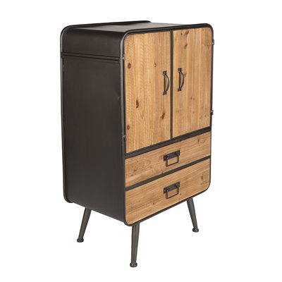 DUTCHBONE RETRO GIN CABINET