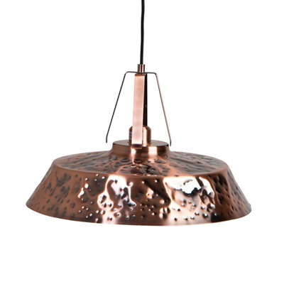 DUTCHBONE INDUSTRIAL CEILING LIGHT in Copper Iron Finish