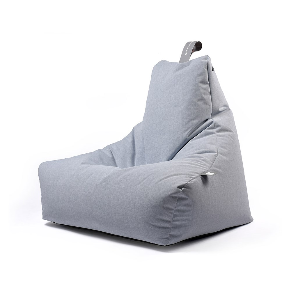 Excellent Extreme Lounging Mighty B Bean Bag In Pastel Blue Inzonedesignstudio Interior Chair Design Inzonedesignstudiocom