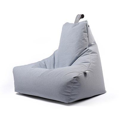 High Quality EXTREME LOUNGING MIGHTY B BEAN BAG In Pastel Blue