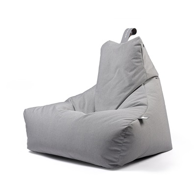 Extreme Lounging Mighty B Bean Bag in Pastel Grey