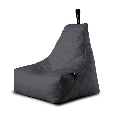 MIGHTY B-BAG QUILTED OUTDOOR BEAN BAG in Grey
