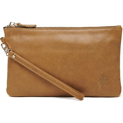 MIGHTY PURSE in Almond Brown