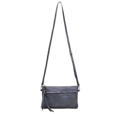 MIGHTY PURSE LUXE X-BODY in Black