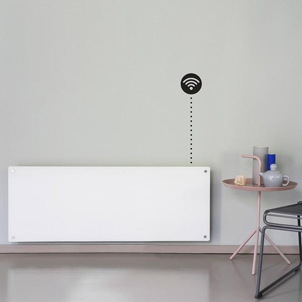 Mill Heat AV1200 Wifi Glass Panel Heater