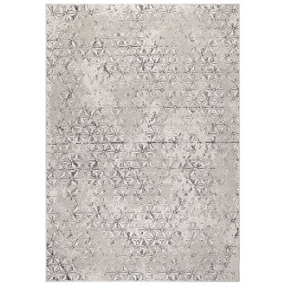 ZUIVER DISTRESSED MILLER RUG in Grey
