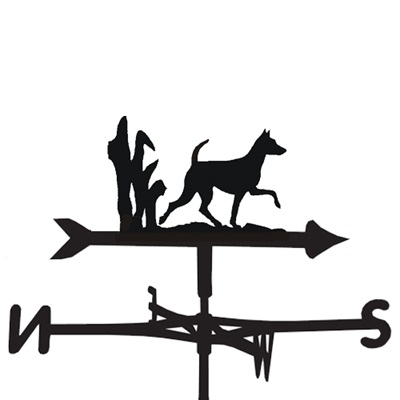 WEATHERVANE in Minature Pinscher Design