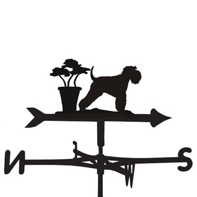WEATHERVANE in Minature Schnauzer Design
