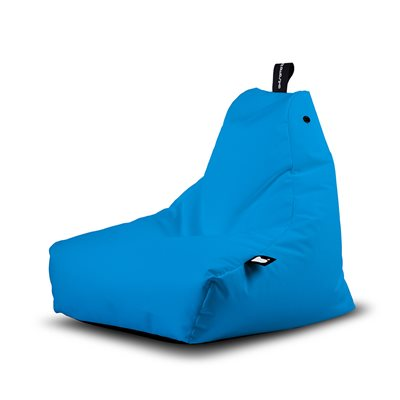 Extreme Lounging Mini B-Bag Outdoor Bean Bag in Aqua