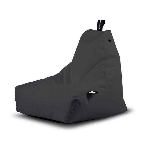 Mini B Bag Outdoor Bean Bag in Grey