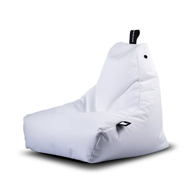 EXTREME LOUNGING MINI B-BAG OUTDOOR BEAN BAG in White