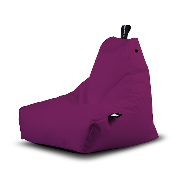 Mini B-Bag Outdoor Bean Bag in Berry