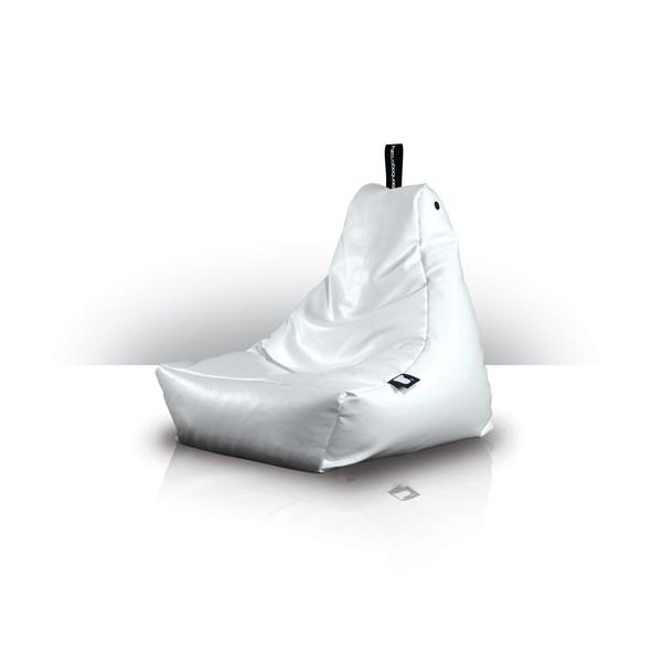 Extreme Lounging Mini Bean Bag in White