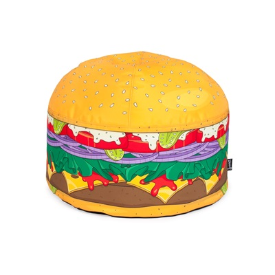 MINI BURGER BEAN BAG by Woouf