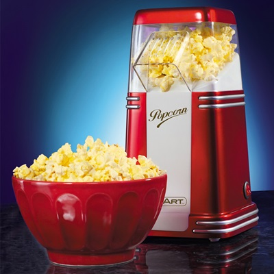 Smart Retro Mini Hot Air Popcorn Maker