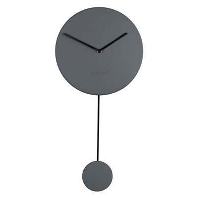 Zuiver Minimal Wall Clock in Grey