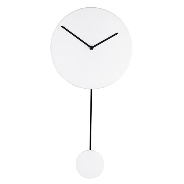 Zuiver Minimal Wall Clock in White