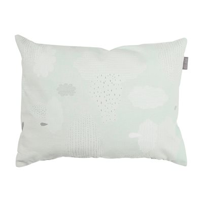OLLI ELLA BABY PILLOW in Pitter Patter Mint Design