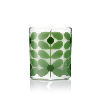 ORLA KIELY TRAVEL CANDLE in Basil and Mint