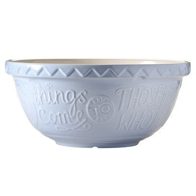 MASON CASH 'BAKE MY DAY' MIXING BOWL in Blue