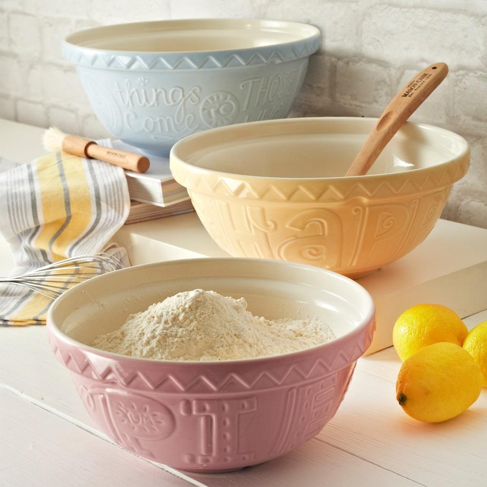 Mason Cash 'Bake My Day' Mixing Bowl In Pink - Kitchen ...
