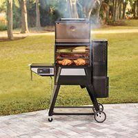 Product photograph showing Masterbuilt Gravity Series 560 Digital Charcoal Grill And Smoker