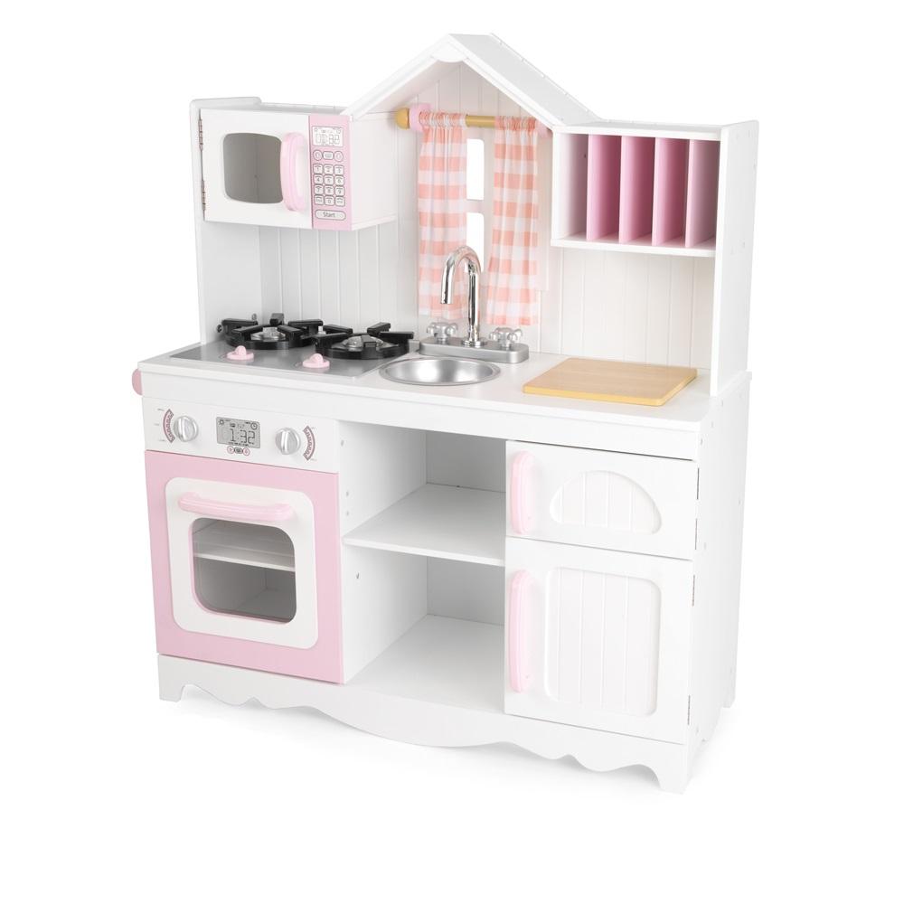 kids modern country kitchen  toys  playhouses  cuckooland - modernkidscountrykitchen