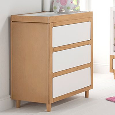 EAST COAST MONACO DRESSER & BABY CHANGE UNIT