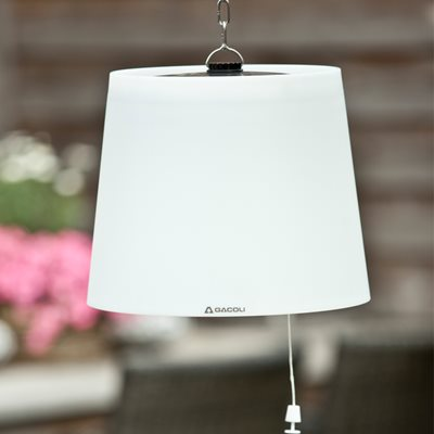 MONROE HANGING LED SOLAR GARDEN LIGHT with Remote Control