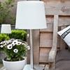 Monroe 65cm Outside Solar Garden Table Lamp