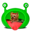 Monster cave pet bed in green
