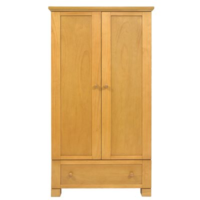 EAST COAST NURSERY MONTREAL DOUBLE WARDROBE in Oak Finish