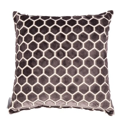 MONTY HONEYCOMB CUSHION in Dark Grey