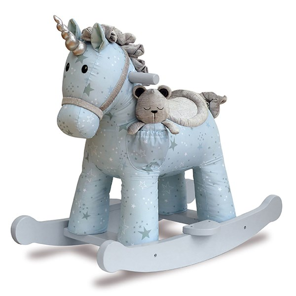 Moonbeam & Rae Unicorn Rocking Horse 9+ Months