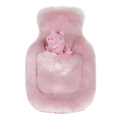 HELEN MOORE PEPPA PIG HOT WATER BOTTLE in Candyfloss