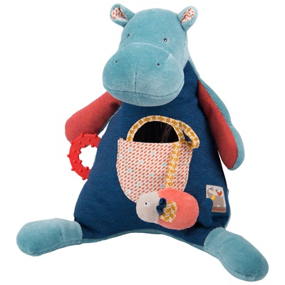 MOULIN ROTY CHILDRENS ACTIVITY HIPPOPOTAMUS